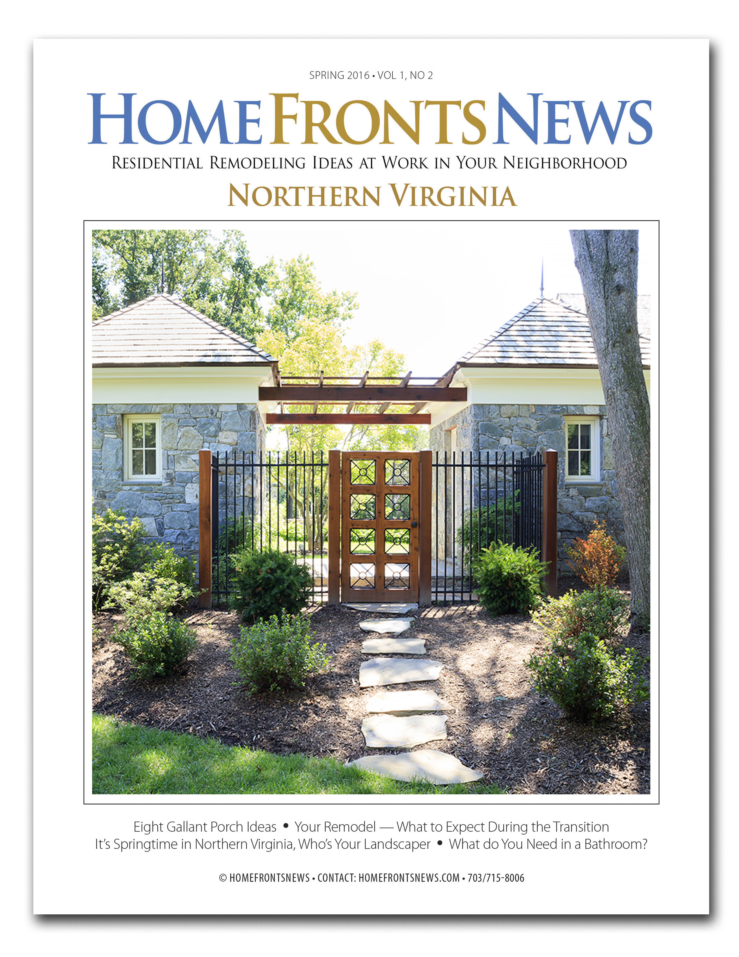 Home Fronts News Spring 2016