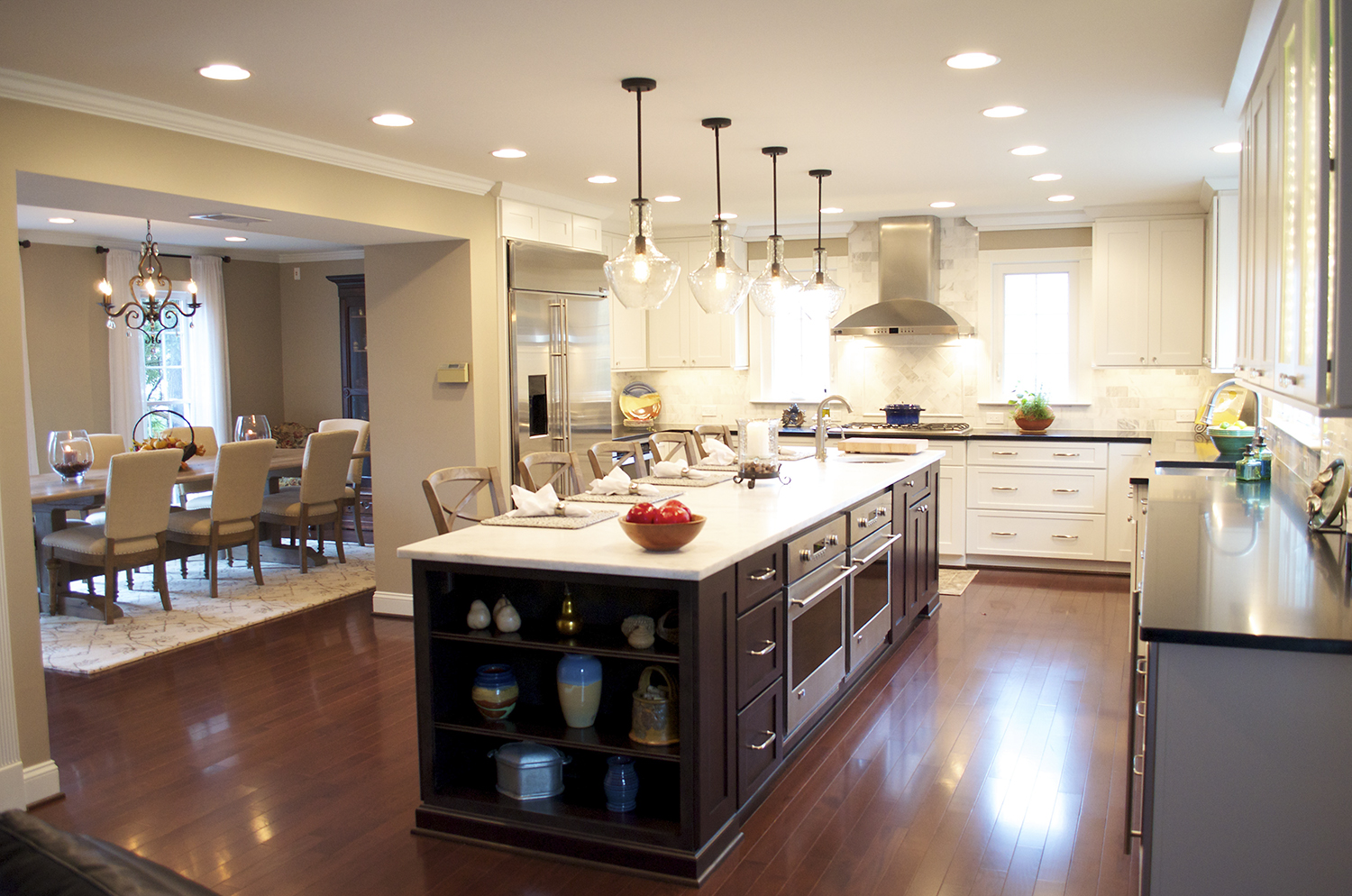Gourmet Kitchen Kitchen Remodeling Northern Virginia Home Fronts News