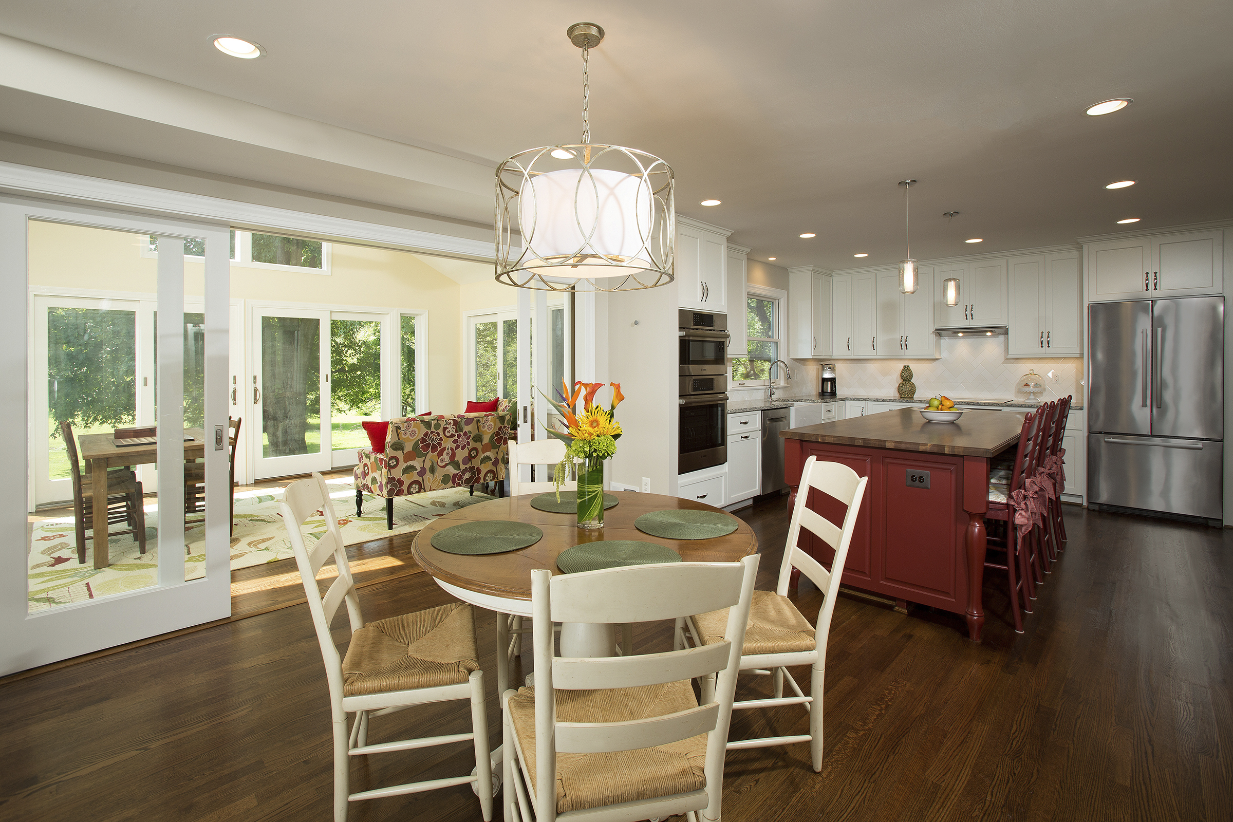 Great Falls Kitchen Renovation Emphasizes Family Interaction